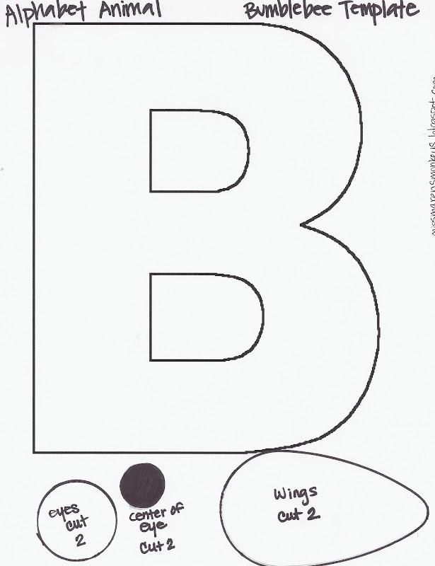 B Art: Miss Maren's Monkeys Preschool: The Letter B
