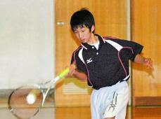 山根稔平君男子日本代表!ガンバレソフトテニス!