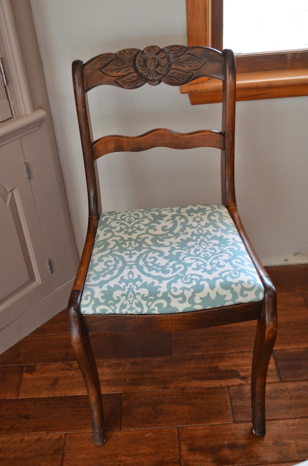 simple diy chair covers rail installation the tucker times dining room