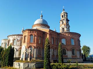 Мирополье. Свято-Николаевская церковь. 1885 г. Отстроенный левый придел