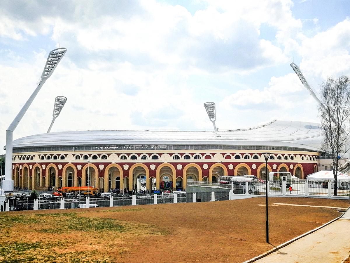 Dinamo Stadium w Mińsku