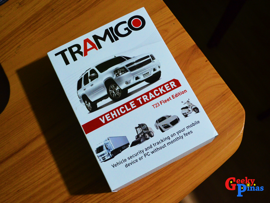 Gps Tracking Device For Cars >> Tramigo T23 Vehicle Tracker Full Review | Geeky Pinas