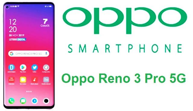 أعلنت شركة Oppo إطلاق هاتفها الجديد Oppo Reno 3 5G في الشهر المقبل.   قام Oppo VP Brian Shen بمشاركة تفاصيل بطارية الهاتف ، ويتنبأ بإمكانية دعم النطاق المزدوج 5G. تم أيضًا تسريب الواجهة الأمامية الكاملة لـ Oppo Reno 3 5G عبر الإنترنت ، والتي تظهر من خلال ثقب الشاشة. من المفترض أن يعمل الهاتف على نظام ColorOS 7 الذي تم الكشف عنه في وقت سابق من هذا الشهر في الصين ، وفي الهند بعد بضعة أيام.    أكدت Oppo بالفعل أن سلسلة Oppo Reno 3 سوف تأتي مع دعم 5G ثنائي الوضع ، مما يعني بشكل أساسي التوافق مع كل من معايير NSA و SA.    وأكد شين على تويتر أن Oppo Reno 3 5G سيحمل بطارية تبلغ مساحتها 4025 مللي أمبير في الساعة. للتذكير ، فإن السلف Oppo Reno 2 يحوي بطارية 4000mAh ، وبالتالي سيشهد الهاتف الجديد زيادة طفيفة في سعة البطارية.  سربت LetsGoDigital عرضًا من Oppo Reno 3 Pro 5G مما يكشف عن جزء الشاشة الأمامي من الهاتف. يُنظر إلى الهاتف على شاشة جمالية ذات ثقب مثقوب مع فتحة مطبقة في الجزء العلوي الأيسر من الشاشة. يحتوي الهاتف على حافة طفيفة على الجبهة وعلى الذقن أيضًا. تظهر أيضًا الحواف المنحنية التي تظهر على الشكل الرسمي لشين والتي تمت مشاركتها مسبقًا. سيشاهد متغير Pro مواصفات مرتفعة قليلاً عن Oppo Reno 3 ، تفاصيلها غير معروفة في الوقت الحالي.