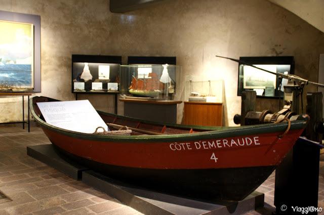 Interno del Museo di Saint Malo