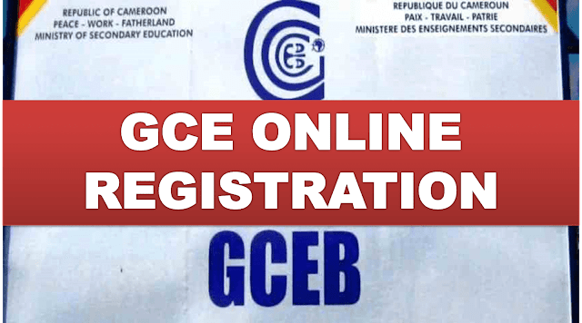 Cameroon GCE 2020: Online Registration Has Been Launched!