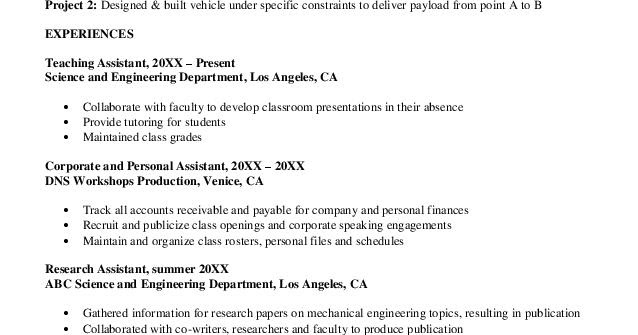 experienced mechanical engineering resume format download