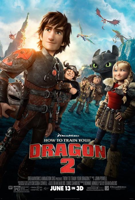 Poster Cum Să Îţi Dresezi Dragonul 2