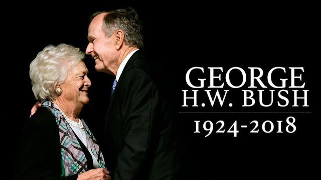 O ex-presidente dos EUA, George Herbert Walker Bush, o empresário que se tornou político e um grande aliado dos sauditas, morreu aos 94 anos.