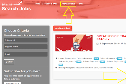 Cara Melamar Lowongan Kerja Telkom Indonesia