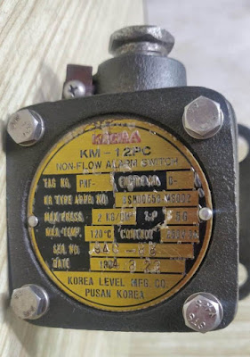 For sale  KM12PC KORIA LEVEL Non Flow alarm switch    Email: idealdieselsn@hotmail.com