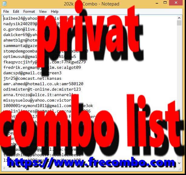3 M HQ COMBOLIST [NETFLIX,HULU,MINECRAFT,VPN,PORN,BTC,SHOPPING,GAMING,SPOTIFY,MORE ]