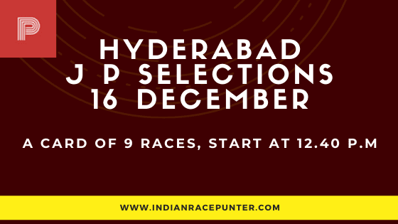 Jackpot Selections by indianracepunter, Trackeagle, free indiaan horse racing tips