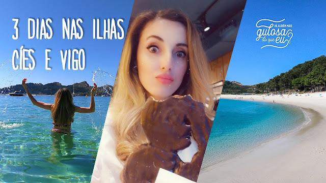 3 dias nas Ilhas Cíes e Vigo