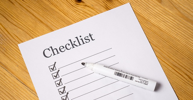 insurance-company-checklist