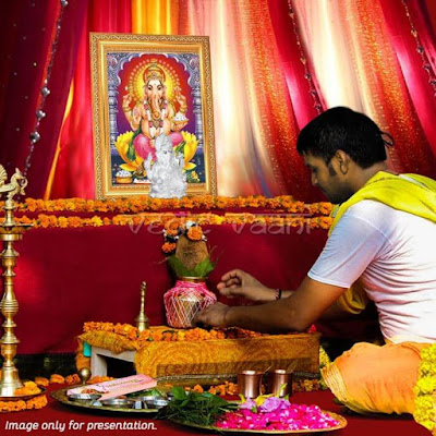 GANESH PUJA IN INDIA