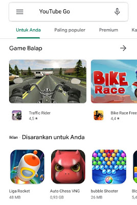 cara download YouTube Go di Android