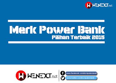 5 Merk Power Bank Pilihan Terbaik 2016 di Indonesia