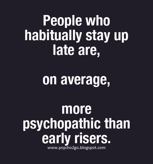 I'm not a psychopath   I'm a high functioning sociopath