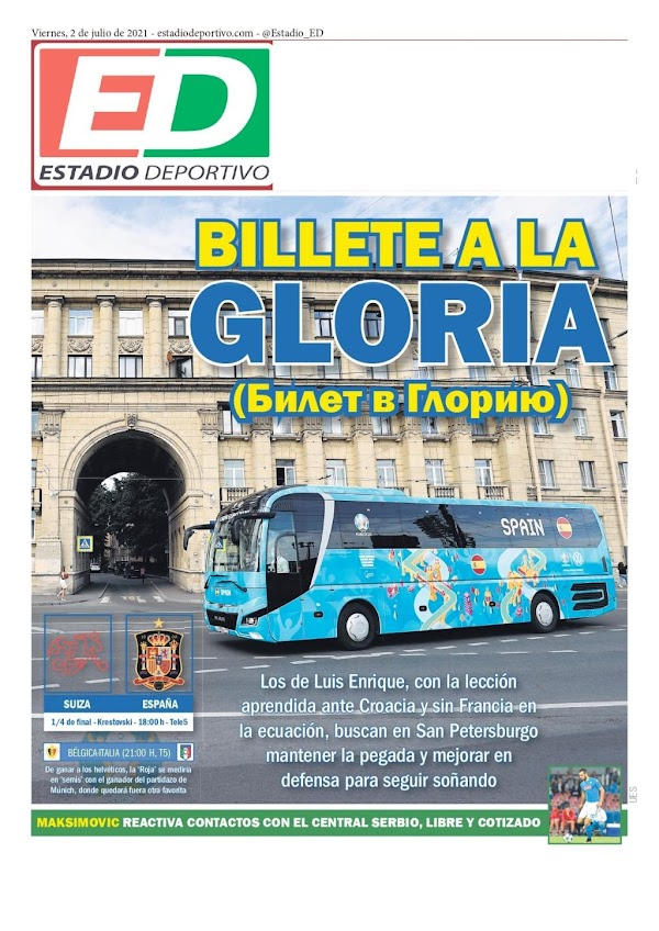 "Betis, Estadio Deportivo: ""Maksimovic"""