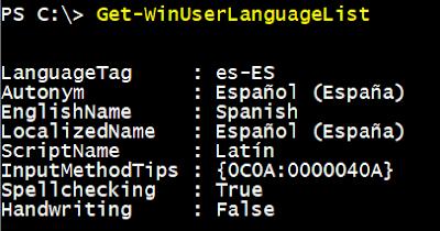 Windows: Configurar teclado español