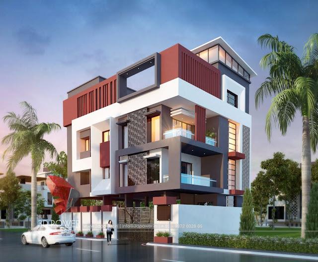 3D-ultra-modern-bungalow-exterior-view-design
