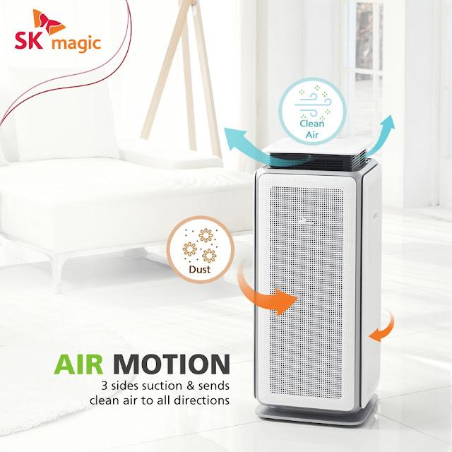SK MAGIC Air Purifier MOTION