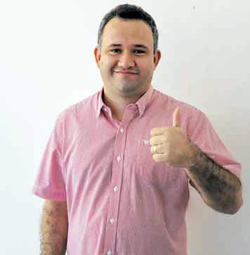 Advogado e empresário Vinicius Falcão