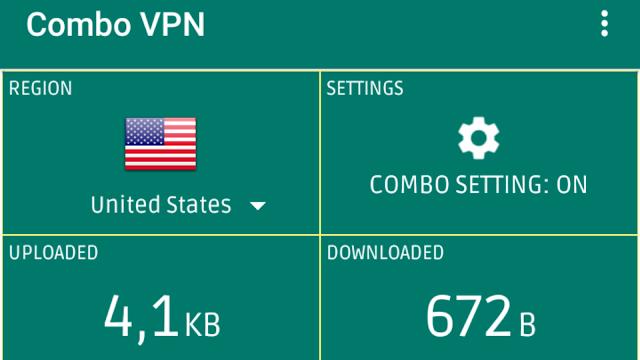 Cara Setting Kuota OMG di Aplikasi Combo VPN Supaya jadi Reguler