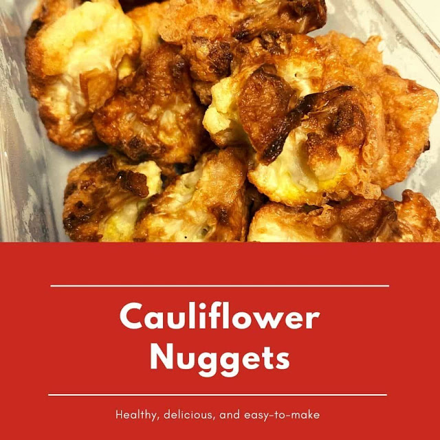 How to make cauliflower nuggets