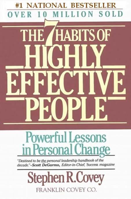 The 7 habits of highly effective people By Stephen R. Covey PDF