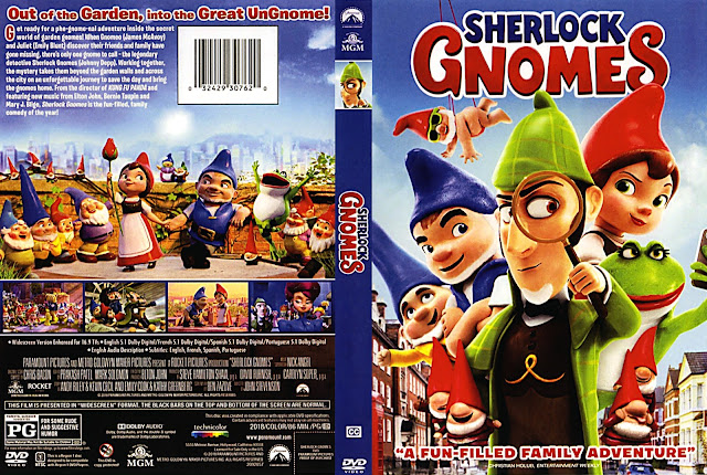 Sherlock Gnomes (scan) DVD Cover