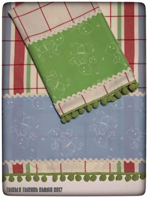 Thistle Thicket Studio, tea towels, Spoonflower fabric, fabric design, textile design, surface pattern design