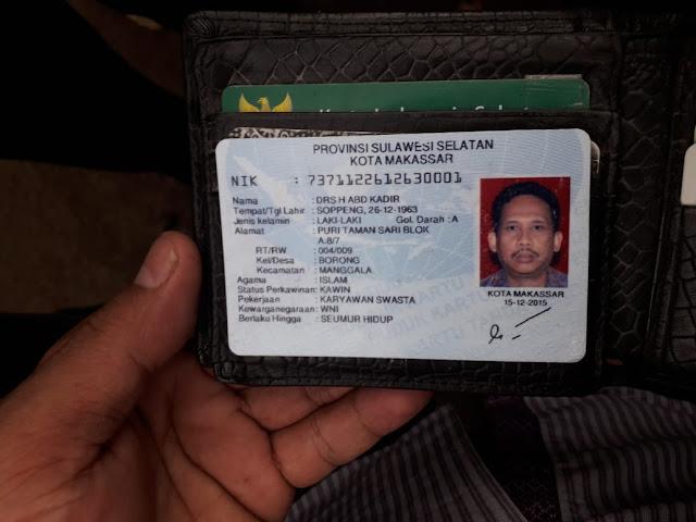 Ini Identias Pria yang Tewas dalam Mobil Luxio Putih Depan NTI
