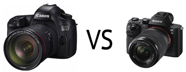 Dslr versus Mirrorless Camera