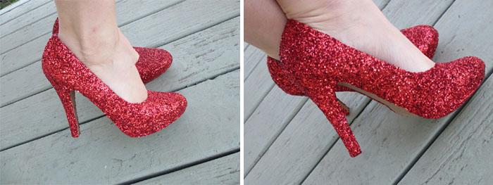 simli topuklu ayakkabı modelleri nasıl yapılır