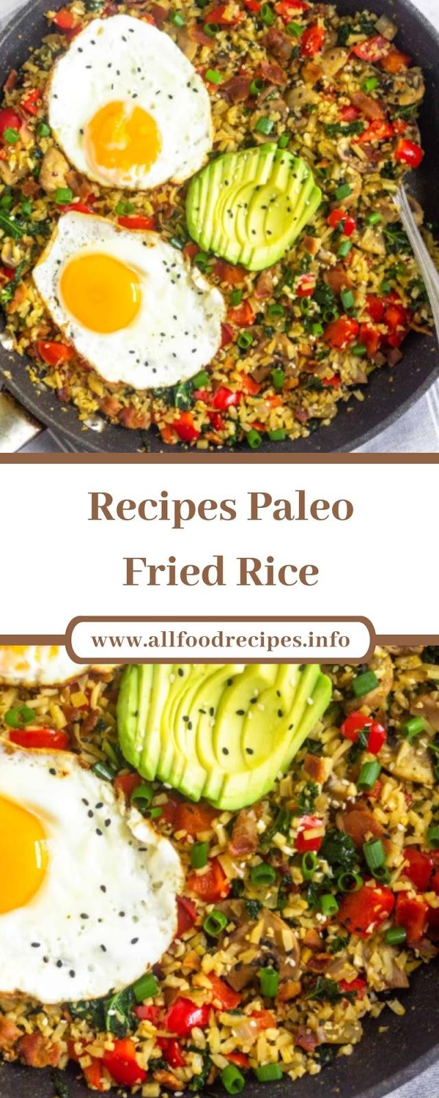 Recipes Paleo Fried Rice