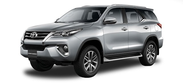 Toyota FORTUNER Pricelist as of July 2019!
