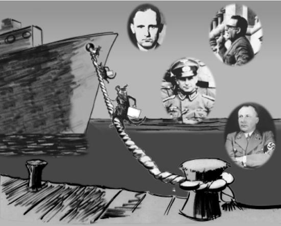 Nazi ratlines Dulles corruption war crimes technology patents