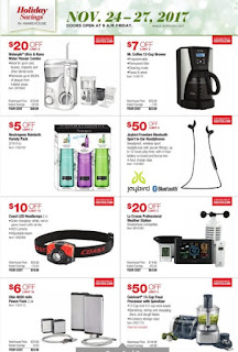 US Black Friday Flyer Costco US - Holiday Savings November 24 – 27, 2017