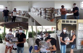 Governo inicia entrega de cestas básicas na 4ª Gerência de Educação