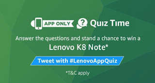 amazon-india-lenovo-k8-note-quiz
