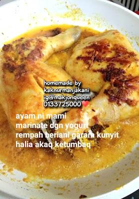 Nasi Biryani Rempah Mamak - Makjonqueen