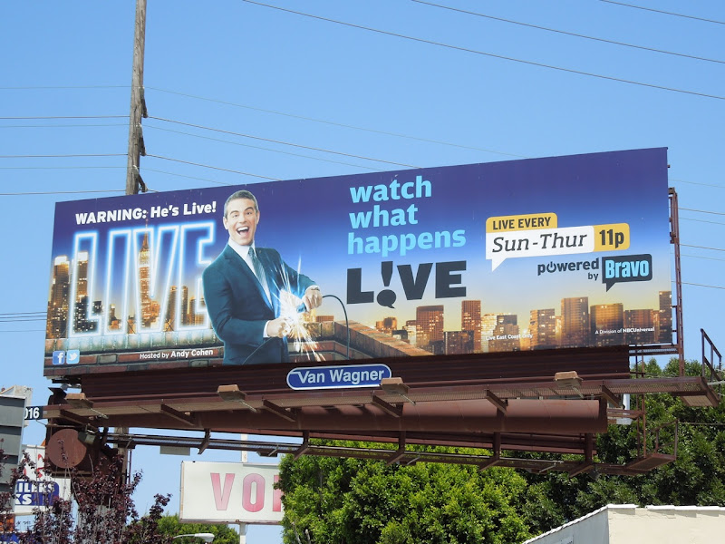 Watch What Happens Live season 6 billboard
