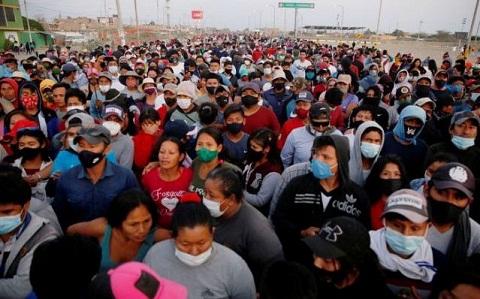 Ribuan Pekerja Pertanian di Peru Tuntut Kenaikan Upah, Setidaknya Satu Tewas