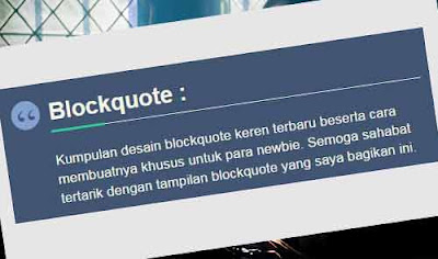 blockquote keren 2017 widget for blogger