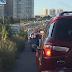 Trânsito totalmente parado na BR-101 sentido Parnamirim/Natal na altura de Emaús