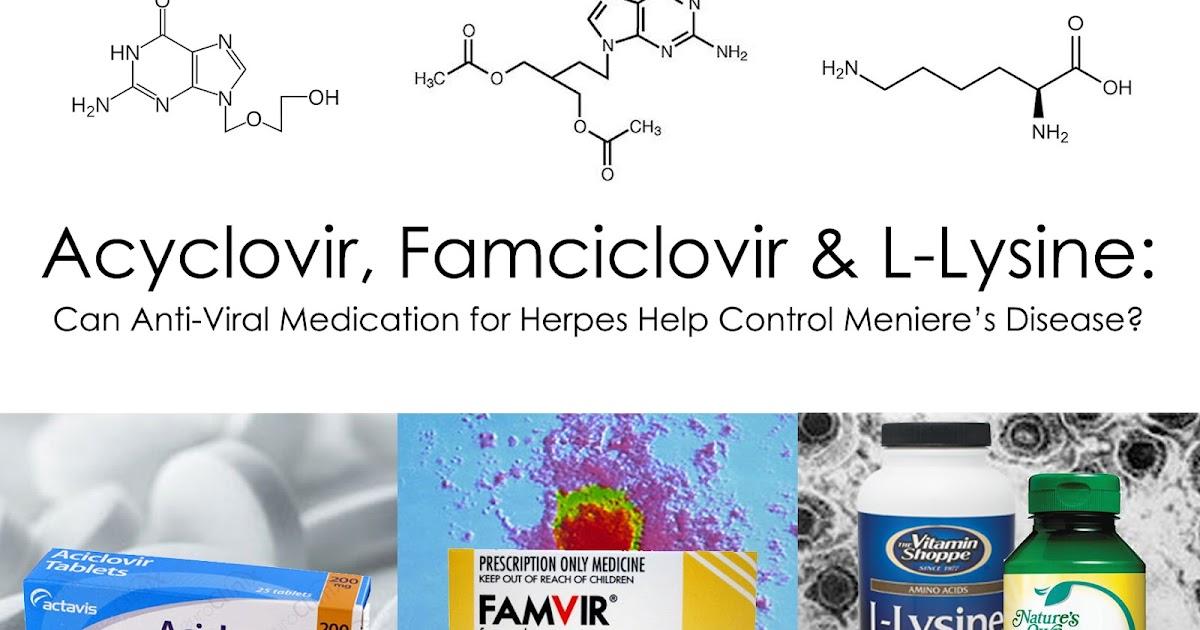 Menieres An Inner Ear Journey Acyclovir Famciclovir