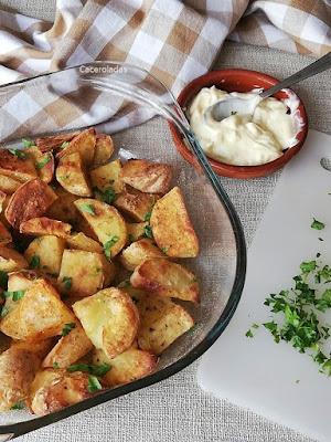 Patatas deluxe al horno con especias