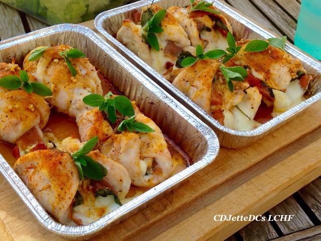 Salvie kyllingeruller som kyllingesaltimbocca, lækker grillmad