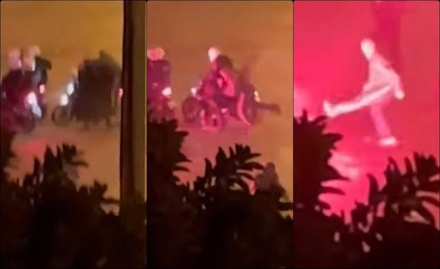 Συνελήφθη ο νεαρός που έριξε τον αστυνομικό από το μηχανάκι πριν τον ξυλοδαρμό στη Νέα Σμύρνη